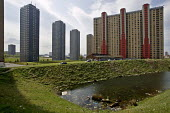 Glasgow Housing Association (GHA) has announced plans to pull down the citys notorious Red Road scheme as part of a 60m redevelopment. The eight high-rise blocks - 1,300 flats packed onto this small s... - John Sturrock - 2000s,2005,ACE,architecture,bad,block,blocks,buildings,cities,city,culture,estate,ESTATES,flat,flats,gha,Glasgow,High Rise,High-rise,highway,housing,inner,plans,poor,Road,ROADS,scheme,scotland,scottis