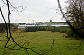 A view of H.M. Prison Shotts from nearby woodland - John Sturrock - 27-04-2005
