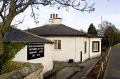 Depending on which direction you are travelling, either 'The last house in Scotland' or 'The first house in Scotland' Marriage Room, situated on the Scottish side of the border with England at Gretna... - John Sturrock - 28-04-2005