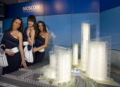 Hostesses on the Moscow stand at the MIPIM 2008 Cannes - The worlds real estate showcase for property professionals. - John Sturrock - 11-03-2008