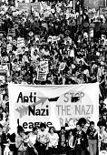 Thousands of people joined the march to the Rock Against Racism carnival in Brockwell Park, south London, 1978 - John Sturrock - 1970s,1978,activist,activists,Against,anti,Anti Nazi League,Anti Racism,BAME,BAMEs,bigotry,BME,bmes,CAMPAIGN,campaigner,campaigners,CAMPAIGNING,CAMPAIGNS,DEMONSTRATING,demonstration,DEMONSTRATIONS,DIS