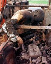 Kosovar Albanian refugees killed by NATO air attack near Djakovica, Kosovo. 1999 - Andrija Ilic - 01-07-1999