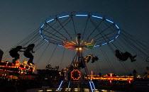 An amusement park in Belgrade. Belgrade, Serbia, 2004 - Andrija Ilic - 01-08-2004