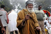 Over one hundred thousand pilgrims walk each December for sixty five kms from the city of Dire Dawa to the Orthodox Church of Saint Gabriel at Kulubi to celebrate Angel Gabriel Day. Kulubi, Ethiopia 2... - Boris Heger - &,2000s,2005,africa,african,Africans,age,ageing population,belief,christian,christianity,christians,Church,churches,conviction,developing,east,East Africa,elderly,ethiopia,ethiopian,ethiopians,faith,f