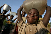 Refugees who have fled across the border from conflict in the Central African Republic ( CAR ) arrive in Chad where they are registered and assisted by aid workers from UNHCR. Chad 2005 The provision... - Boris Heger - 17-09-2005