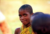 Hutu children displaced by the civil war at an IDP camp, where they are assisted by UNICEF. Bujumbura, Burundi. 1995 - Howard Davies - 03-05-1995