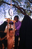 MSF programme in a drought area on a DFID funded programme. Mandera District. Kenya. 2000 - Howard Davies - 03-05-2000