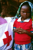 Unaccompanied Rwandan refugee children in care of Red Cross, Goma , Zaire - Congo 1994 - Howard Davies - 03-05-1994