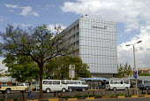 The HQ building of Debswana Diamond Company Ltd. Debswana is a mining company, and a joint partnership between the Botswana Government and De Beers to exploit the countrys diamond resources. - Howard Davies - 31-10-2006