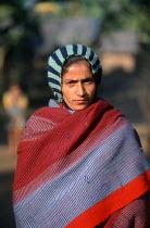Bhutanese refugee woman, Sanischare camp, Nepal. 1997 - Howard Davies - 03-05-1997