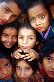 Bhutanese refugee children at SCF disability support project, Beldangi camp, Nepal. 1997 - Howard Davies - 03-05-1997