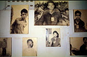Tuol Sleng Genocide Museum, Photographs of Cambodian prisoners taken by Khmer Rouge before execution, Phnom Penh, Cambodia, 1992 - Howard Davies - prisoner,1990s,1992,ACE,activist,activists,asia,asian,asians,cambodia,Cambodian,Cambodians,CAMPAIGN,campaigner,campaigners,CAMPAIGNING,CAMPAIGNS,Communist Party of Kampuchea,conflict,conflicts,crimes,