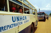 Cambodian children preparing to be repatriated by UNHCR from Camp Eight, Thailand..1992 - Howard Davies - 03-05-1993