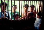 Vietnamese refugees in detention camp. Galang Island, Indonesia. 1992 - Howard Davies - 03-05-1992