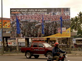 A bill board promoting the Sri Lankan army which is embroilled in a long term conflict with Tamil rebels in the north and west of the country. Colombo, Sri Lanka 2006 - Howard Davies - 02-09-2006