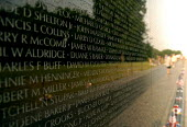 The Vietnam Veterans War Memorial, dedicated to the 58,253 US service men and women who died in the Vietnam War. - Howard Davies - 31-05-2006