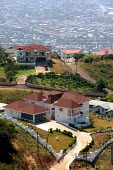 Wealthy housing, Red Hills suburb, Kingston, Jamaica 1998 - Howard Davies - 03-08-1998