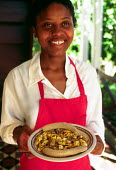 Hotel restaurant serving the traditional Jamaican dish of ackee and saltfish. - Howard Davies - 03-08-1997