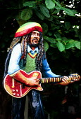 Bob Marleys former house, now a Museum dedicated to the musicians life, Kingston, Jamaica 1996 - Howard Davies - 03-08-1996