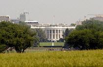 View across to the White House, Washington DC, USA 2006 - Howard Davies - 25-05-2006