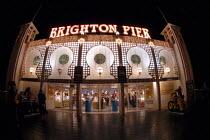 Brighton Pier formerly known as the Palace Pier, Brighton, UK 2007 - Howard Davies - 21-12-2007