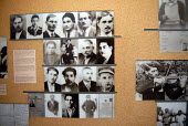 Display at Auschwitz recording history of Roma deported to the concentration camp, Poland - Howard Davies - 11-06-2008