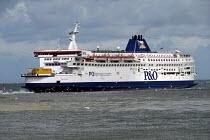Cross channel ferry leaving Calais port, France 2009 - Howard Davies - 17-07-2009