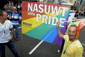 NASUWT taking part in Gay Pride in Brighton, UK 2009 - Howard Davies - 01-08-2009