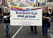 NUT taking part in Gay Pride in Brighton, UK 2009 - Howard Davies - 01-08-2009