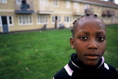 Children whose family are seeking asylum in Ireland at a Direct Provision Centre established by the Irish Government to house and care for refugees until their cases have been decided upon. Co Meath,... - Howard Davies - 01-08-2004