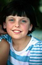 Bosnian Muslim refugee child in a refugee camp. Djakovo, Croatia. 1992 - Howard Davies - 01-08-1992