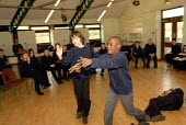An Oromo refugee, who came to the UK as a refugee from Ethiopia under the Gateway Protection Programme, in a drama class at his secondary school in Brighton, UK 2007 - Howard Davies - 23-03-2007