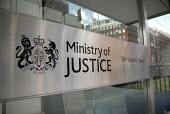 The Ministry of Justice created when the Home Office was divided, the new Ministry being mainly responsible for control of probation, prisons and prevention of re-offending. London - Howard Davies - 02-06-2007
