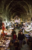 View inside the market of the Arab Quarter of the old city of Jerusalem. 2003 - Howard Davies - 01-07-2003