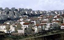 Israeli settlement in East Jerusalem. West Bank 2003 - Howard Davies - 01-07-2003