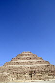 The Step Pyramid at Saqqara outside Cairo, Egypt. 2006 - Howard Davies - 07-11-2006