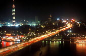 A night time view over the city of Cairo. - Howard Davies - 14-10-2005