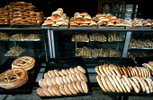 Bread on sale at a bakery, in Luxor. - Howard Davies - 14-10-2005
