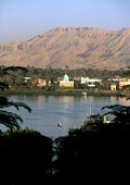 View across the River Nile to the west side of Luxor. - Howard Davies - 14-10-2005