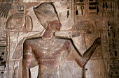 Engravings at the Medinet Habu Temple Complex, in Luxor. - Howard Davies - 14-10-2005