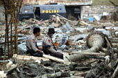 Military presence in Aceh had been strong for years and the elite units had a huge base close to the sea, many thousands are reported to have died when the wave careered through their compound lifting... - Jim Holmes - 03-04-2005