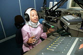 A radio journalist who has been employed by Oxfam to diseminate public health messages and other aspects of Oxfam work - shelter and issues related to returnee communities follwoing the Tsunami. Aceh,... - Jim Holmes - 03-04-2005