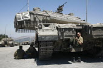 Israeli soldiers on Lebanon border. - Thomas Morley - 06-08-2006