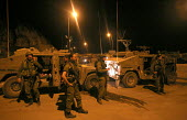 Quiriat Shemona. Israel. Israeli troops getting ready to enter Lebanon on another mission. - Thomas Morley - 03-08-2006