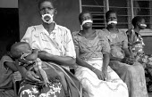 Some of ten Acholi women whose lips were mutilated by five Lords Resistance Army rebels after they left their camp near Kitgum to fetch water from a well. Another woman and her child were murdered in... - Thomas Morley - 24-02-2005