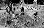 A group of Acholi men working in a brick kiln living in an IDP camp for Acholi displaced by the violent conflict waged between the Ugandan Government army - UPDF - and the Lords Resistance Army in nor... - Thomas Morley - 11-02-2005