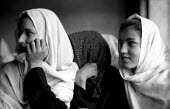 Afghan school reopened for girls after the defeat of the Taliban, Kabul, Afghanistan 2002 - Thomas Morley