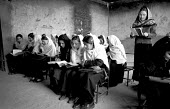 Afghan school reopened for girls after the defeat of the Taliban, Kabul, Afghanistan 2002 - Thomas Morley - 01-03-2002