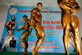 Mr. India competition held in Hyderabad, India. In an increasingly body conscious society, bodybuilding is the fastest growing sport in India amongst young men. Steroid use is rife in the sport. - Tom Parker - 2000s,2007,6,Asia,asian,asians,bicep,big,bodies,body,body-build,bodybuilder,bodybuilders,bodybuilding,building,BUILDINGS,bulging,Championship,Championships,Club,clubs,COMPETITATIVE,competition,EXERCIS