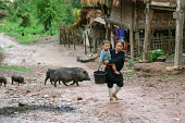 Hill Tribe children in Northern Laos. - Tom Parker - 04-04-2007